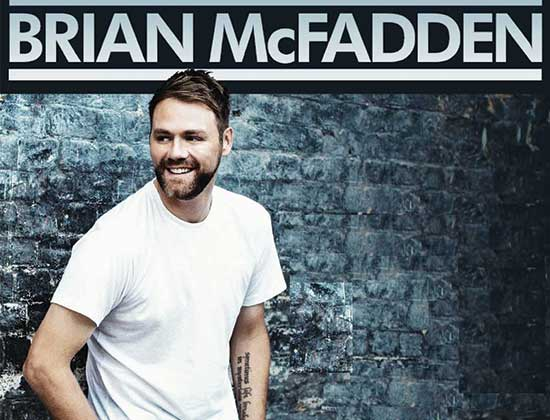 Brian McFadden announced as support act for BOYZONE