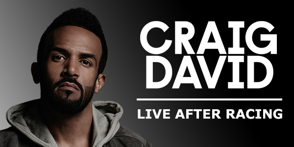Craig David to take to the stage at Lingfield Park Resort