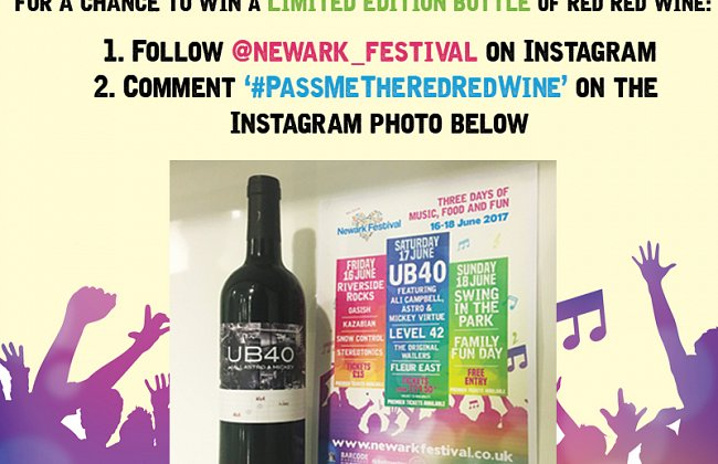 Win a Bottle of 'Red Red Wine'!
