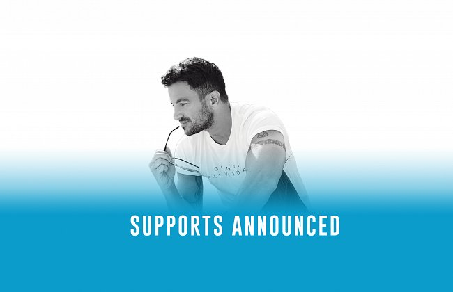 Kalon Rae and Lauren Halil to support Peter Andre