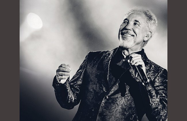 Tom Jones to Perform at Canterbury