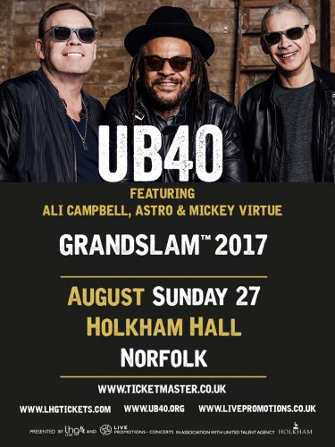 UB40 to perform at Holkham Hall :: View Post :: Liz Hobbs